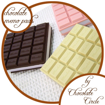 chocolate-memo-pad